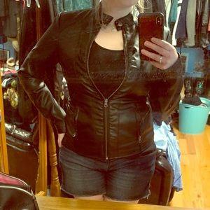 Baccini Vegan Leather Jacket